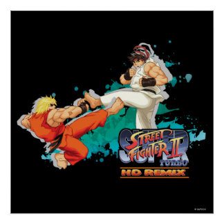 Ken contra Ryu 2 Poster