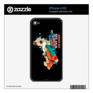 Ken contra Ryu 2 Skins Para eliPhone 4S