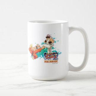 Ken contra Ryu 2 Tazas De Café