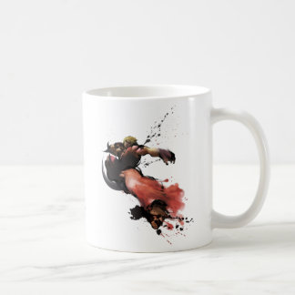Ken Kick Classic White Coffee Mug