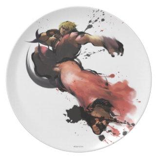 Ken Kick Dinner Plates