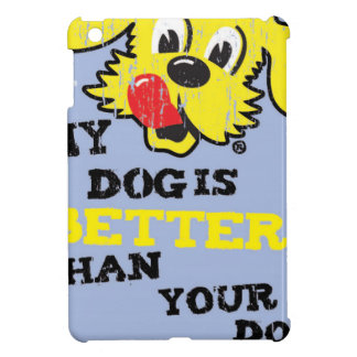 Ken L-Ration T Shirt My Dogs Better by Retrobrand. Cover For The iPad Mini