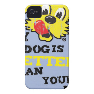 Ken L-Ration T Shirt My Dogs Better by Retrobrand. iPhone 4 Case-Mate Case