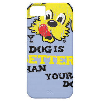 Ken L-Ration T Shirt My Dogs Better by Retrobrand. iPhone SE/5/5s Case