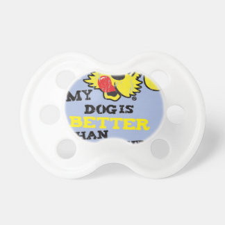 Ken L-Ration T Shirt My Dogs Better by Retrobrand. Pacifier