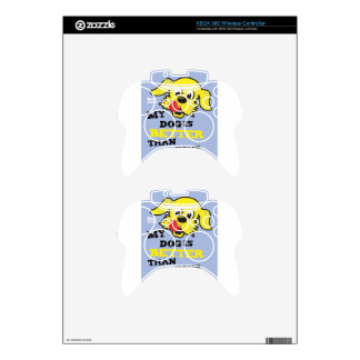Ken L-Ration T Shirt My Dogs Better by Retrobrand. Xbox 360 Controller Skin