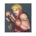 Ken listo para luchar blocs de notas