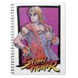 Ken Masters Spiral Note Book
