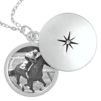 Ken McPeek Workouts at Saratoga Sterling Silver Necklace