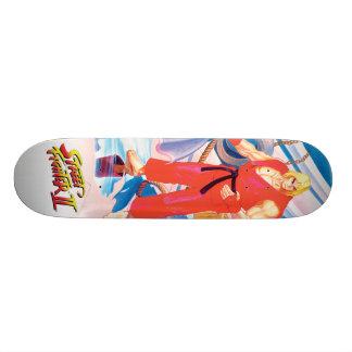 Ken on Dock Skateboard Deck