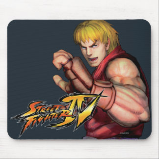 Ken Ready to Fight Mouse Pad