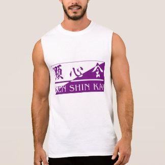 Ken Shin Kai Sleeveless Sleeveless T-shirt