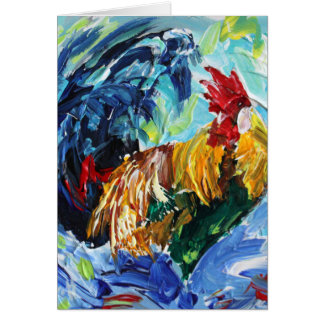 Ken the Rooster. Love chickens love these special Card