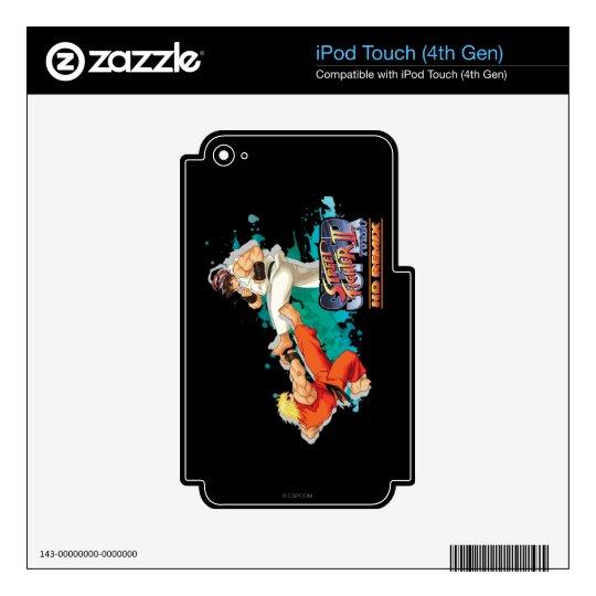 Ken Vs. Ryu 2 iPod Touch 4G Skins