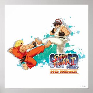 Ken Vs. Ryu 2 Poster