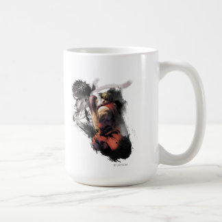 Ken Vs. Ryu Coffee Mug