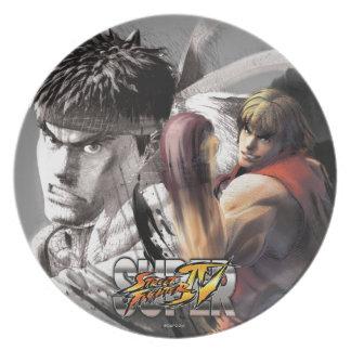Ken Vs. Ryu Plate