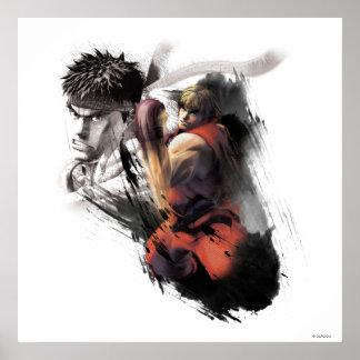 Ken Vs. Ryu Poster