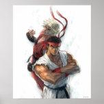 Ken y Ryu Posters
