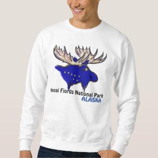 Kenai Fjords National Park Alaska elk flag shirt