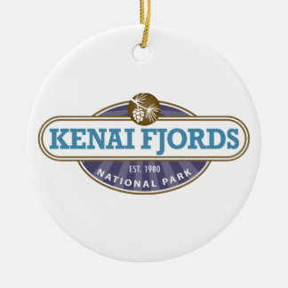 Kenai Fjords National Park Christmas Tree Ornament