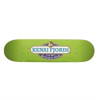 Kenai Fjords National Park Skateboard