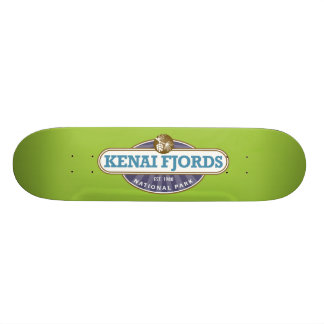 Kenai Fjords National Park Skateboard Deck