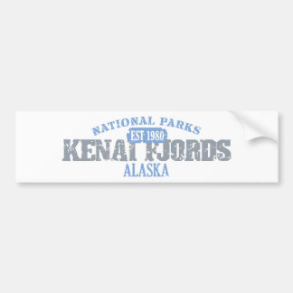 Kenai Fjords National Parks Bumper Sticker