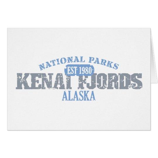 Kenai Fjords National Parks Card