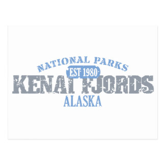 Kenai Fjords National Parks Postcards
