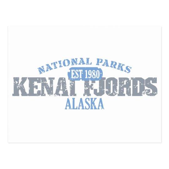Kenai Fjords National Parks Postcard
