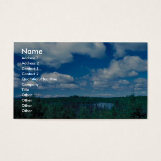 Kenai Wetlands Business Card