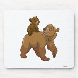 Kenai y Koda Disney Alfombrillas De Ratón
