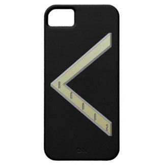 Kenaz Rune gold iPhone 5 Case