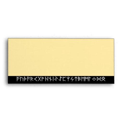 Kenaz Rune gold Envelope