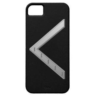Kenaz Rune grey iPhone 5 Cover