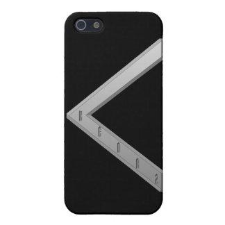 Kenaz Rune grey iPhone 5 Covers