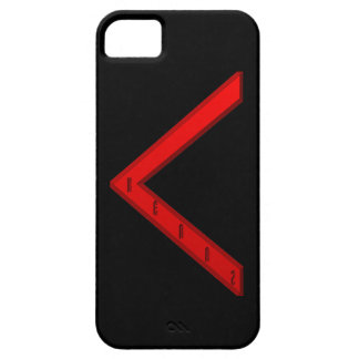 Kenaz Rune red iPhone SE/5/5s Case