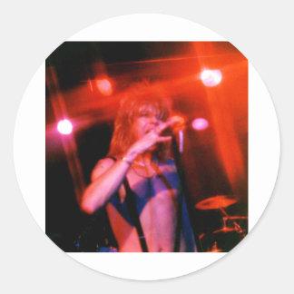 KenBoy LIVE REDFull Classic Round Sticker