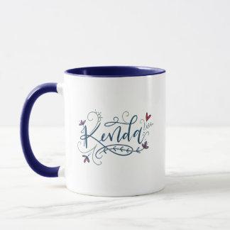 Kenda - orden de encargo de las letras - taza