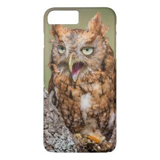 Kendall County, Texas. Eastern Screech-Owl 2 iPhone 8 Plus/7 Plus Case