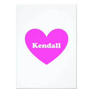 Kendall Personalized Announcement