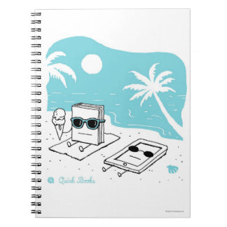Kendall & Paige - Beach Spiral Note Books