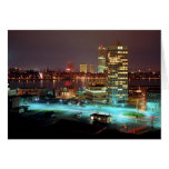 Kendall Square and Boston Skyline, 1967 Greeting Card