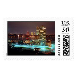 Kendall Square and Boston Skyline, 1967 Postage