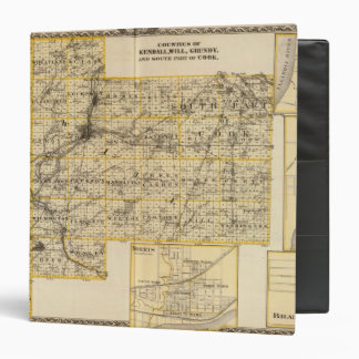 Kendall Will Grundy and Cook counties 3 Ring Binder