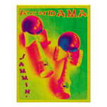 Kendama Jammin' Psychedelic Poster