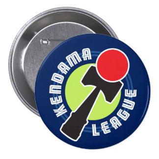 Kendama League 3 Inch Round Button