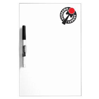Kendama League Dry Erase Board