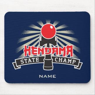 Kendama State Champ Mouse Pad